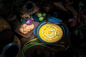 Pumpkin Coconut cream Soup